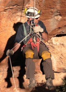 Frag Last descending into Husfa Hoota, Jordan
